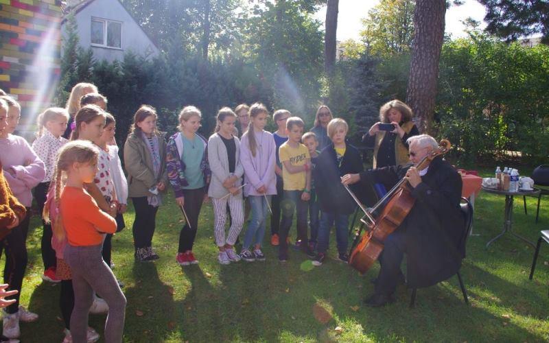 Svečiuose Maestro Davidas Geringas